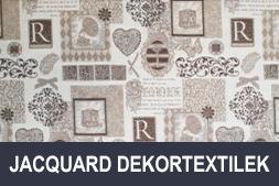 Jacquard dekortextilek
