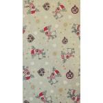 Cupid-Mintás, karácsonyi lakástextil, loneta dekorvászon
