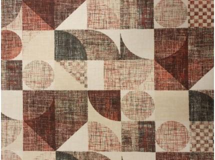 Art-bordó lakástextil, loneta dekorvászon