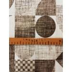 Art-barna lakástextil, loneta dekorvászon