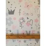 Baby Girl-Pink lakástextil, loneta dekorvászon