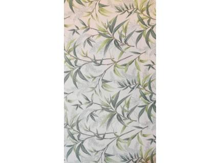 Bambuszlevél mintás, lakástextil, loneta dekorvászon.