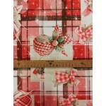 Natale-lakástextil, loneta dekorvászon